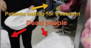 China Corona Virus Horror: Hospital Corridor of the Dead and Dying