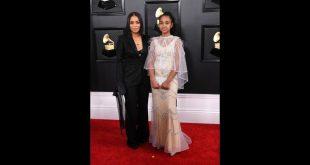Lauren London Honors Nipsey Hussle At 2020 Grammy Awards