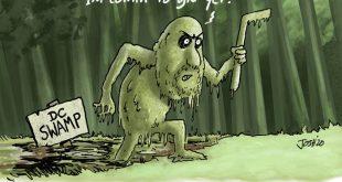 Friday Funny – Venal Swamp Mann