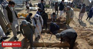Kabul attack: Families bury schoolchildren of blast that killed dozens